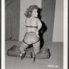 INFAMOUS STRIPPER JADA CONFORTO IRVING KLAW VINTAGE ORIGINAL PHOTO 4X5 1950'S #31