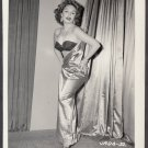 INFAMOUS STRIPPER JADA CONFORTO IRVING KLAW VINTAGE ORIGINAL PHOTO 4X5 1950'S #32