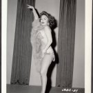 INFAMOUS STRIPPER JADA CONFORTO IRVING KLAW VINTAGE ORIGINAL PHOTO 4X5 1950'S #59