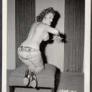 INFAMOUS STRIPPER JADA CONFORTO IRVING KLAW VINTAGE ORIGINAL PHOTO 4X5 1950'S #60