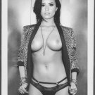 DEMI LOVATO TOPLESS NUDE BIG LARGE BREASTS POSE 5X7  #005