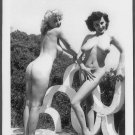 DONNA BROWN & BOBBIE REYNOLDS NUDE AT SPIDERPOOL 5X7 REPRINT #47