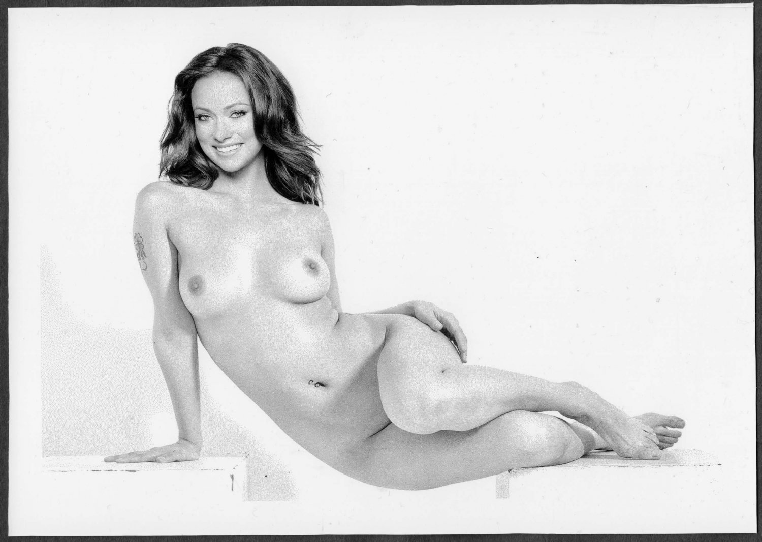 OLIVIA WILDE TOTALLY NUDE BIG LARGE BREASTS BARE PUSSY NEW REPRINT 5 X 7 #1