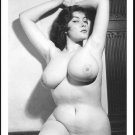 ANN AUSTIN TOPLESS NUDE HUGE HEAVY HANGING BOOBS 5X7 REPRINT #5