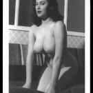 ANN AUSTIN TOPLESS NUDE HUGE HEAVY HANGING BOOBS 5X7 REPRINT #22