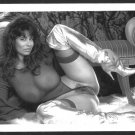 CHRISTY CANYON TOTALLY NUDE HEAVY HANGING BREASTS HAIRY PUSSY 5X7 REPRINT #31