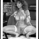 CHRISTY CANYON TOTALLY NUDE HEAVY HANGING BREASTS HAIRY PUSSY 5X7 REPRINT #43