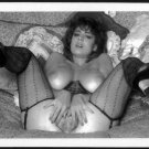 CHRISTY CANYON TOTALLY NUDE HEAVY HANGING BREASTS HAIRY PUSSY 5X7 REPRINT #169