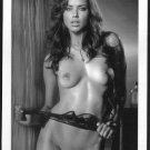 ADRIANA LIMA TOTALLY NUDE BIG LARGE BOOBS SHAVED PUSSY 5X7 REPRINT #2