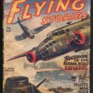 ARMY NAVY FLYING STORIES BUZZARDS OF THE BURMA ROAD VERY GOOD FALL ISSUE 1944