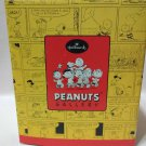 HALLMARK PEANUTS GALLERY WORKING TOGETHER PORCELAIN NUMBERED EDITION QPC4078