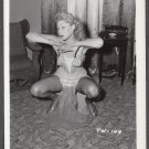 STRIPPER TRUDY WAYNE IRVING KLAW VINTAGE ORIGINAL PHOTO 4X5 1950'S #149