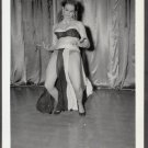 STRIPPER EVE ADAMS IRVING KLAW VINTAGE ORIGINAL PHOTO 4X5 1950'S #11