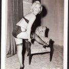 STRIPPER KELLY HARRIS IRVING KLAW VINTAGE ORIGINAL PHOTO 4X5 1950'S #19