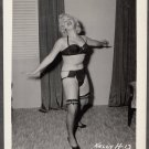 STRIPPER KELLY HARRIS IRVING KLAW VINTAGE ORIGINAL PHOTO 4X5 1950'S #13