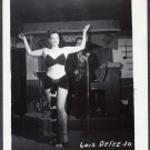 STRIPPER LOIS DeFEE IRVING KLAW VINTAGE ORIGINAL PHOTO 4X5 1950'S #10