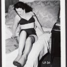 FETISH MODEL LILI DAWN IRVING KLAW VINTAGE ORIGINAL PHOTO 4X5 1950'S #30
