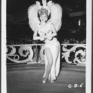 SHOWGIRL GAIL BENNETT IRVING KLAW VINTAGE ORIGINAL PHOTO 4X5 1950'S #5