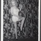 FETISH MODEL JOAN RYDELL IRVING KLAW VINTAGE ORIGINAL PHOTO 4X5 1950'S #127