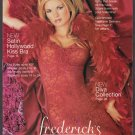 FREDERICKS OF HOLLYWOOD CATALOG NIKKI ZEIRING LEEANN TWEEDEN SPRING PREVIEW 2000