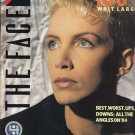 THE FACE MAGAZINE ISSUE 57 ANNIE LENNOX PAUL YOUNG 1984 REVIEW JANUARY 1985