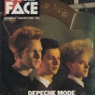 THE FACE MAGAZINE ISSUE 21 DEPECHE MODE SOFT CELL REVIEW OF '81 JANUARY 1982
