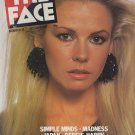 THE FACE MAGAZINE ISSUE 18 MARC BOLAN LEGACY SIMPLE MINDS JAPAN BLONDIE 10/81