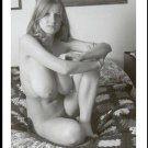 ROBERTA PEDON TOTALLY NUDE HUGE HANGING BREASTS HAIRY PUSSY POSE 5 X 7 #427