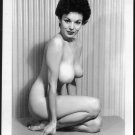 STRIPPER SEQUIN TOTALLY NUDE HUGE HEAVY HANGING BOOBS POSE 5X7 REPRINT #001
