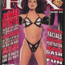 FOX MAGAZINE JEWEL DE'NYLE MERCEDEZ VARIOUS ADULT INDUSTRY MODELS JANUARY 2001