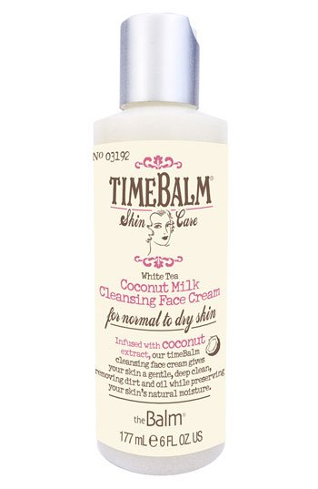 The Balm TimeBalm Coconut Milk Cleansing Face Cream 6 fl oz