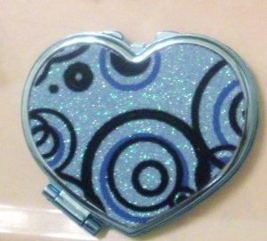 Blue Swirls Mirror