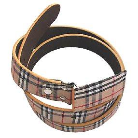 Burberry Classic Check Belt 01 Replica