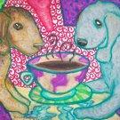 Do Bedlington Terriers Have Coffee?