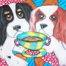 Do Cavalier King Charles Spaniels Have Coffee?