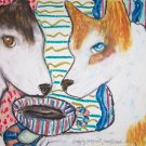 Do Siberian Huskies Have Coffee?