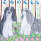 Do Bearded Collies Have Martinis?