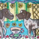 Do German Shorthaired Pointers Have Coffee?