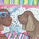 Do Sussex Spaniels Celebrate with Champagne?