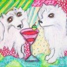 Do American Eskimo Dogs Have Martinis?