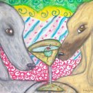 Do Afghan Hounds Have Martinis?