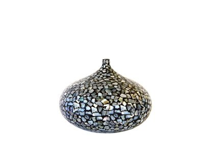 beautiful Mother of Pearl inlaid Vase