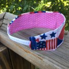 Summertime Holiday 4th Of July Reversible Headband