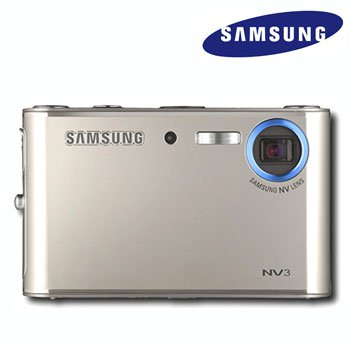 SAMSUNG® 7.2MP DIGITAL CAMERA & MP3 PLAYER