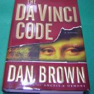 The Da Vinci Code  Dan Brown Book HCDJ