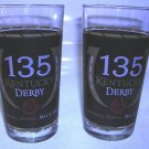 135th Running Kentucky Derby Glasses Churchill Downs