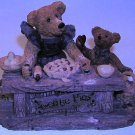 Boyds Bears Justina & M.Harrison 1993 Sweetie Pie Resin