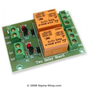 Two RELAY BOARD ready for your PIC, AVR project : 12V