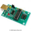 USB 24xxx I2C E-Eprom programador - Microchip, ATMEL