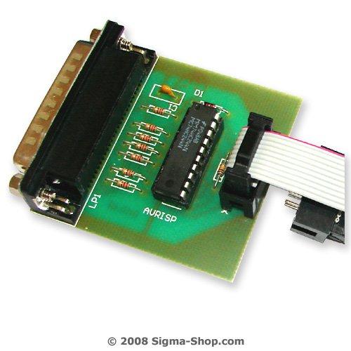 STK compatible ATMEL AVR programmer - AVR, Tiny, Mega
